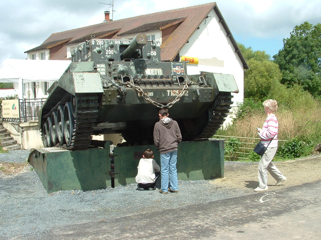 Jamie knows what type of tank it is.