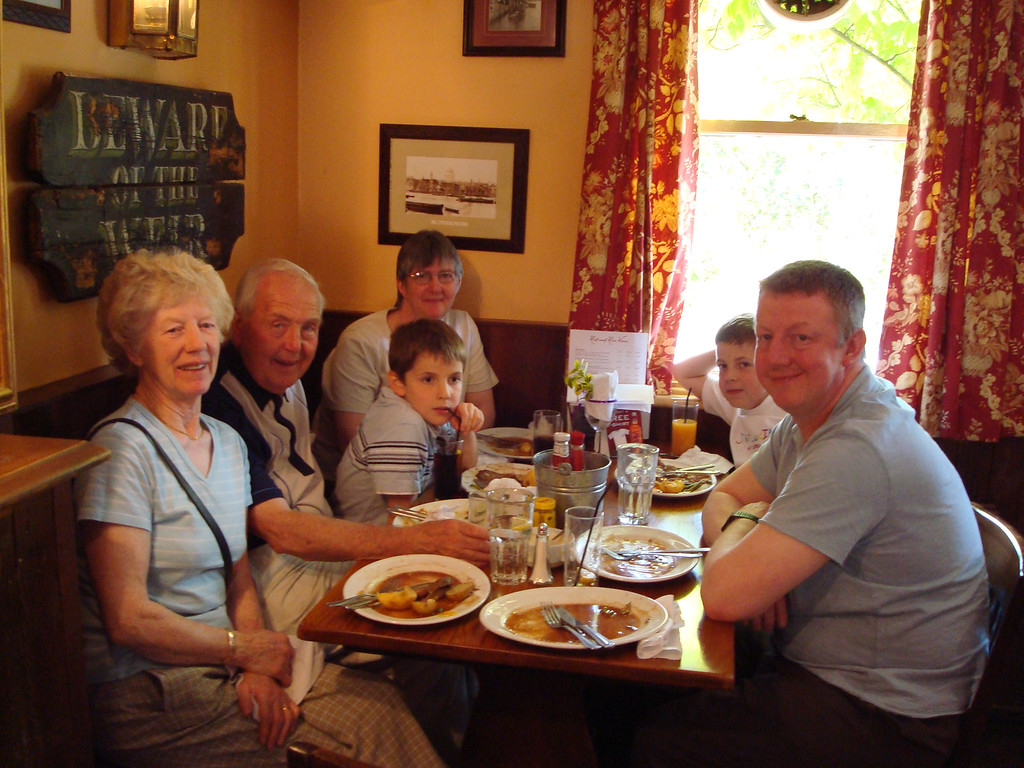 Family pub lunch