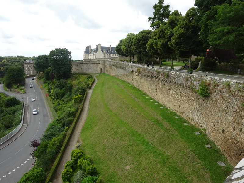The 13th and 14th century town walls.