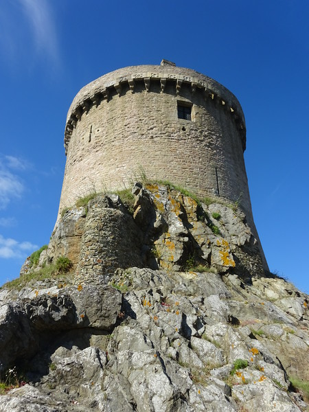 "This castle featured heavily in the movie 'The Vikings"" - this is where Kirk Douglas (Ragnar?) gets killed at the end! (Spoiler!!)"