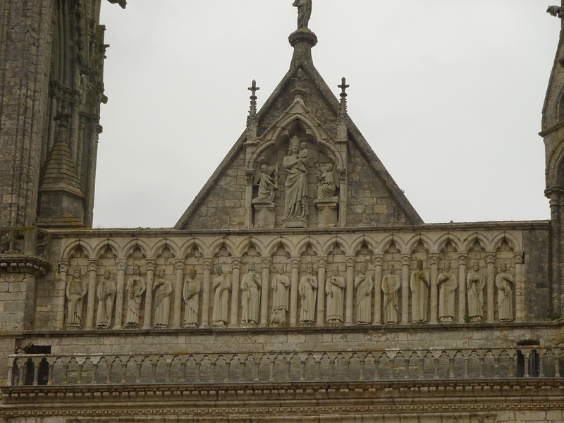 The exterior is a stone-carving master class in itself especially the west and north sides.