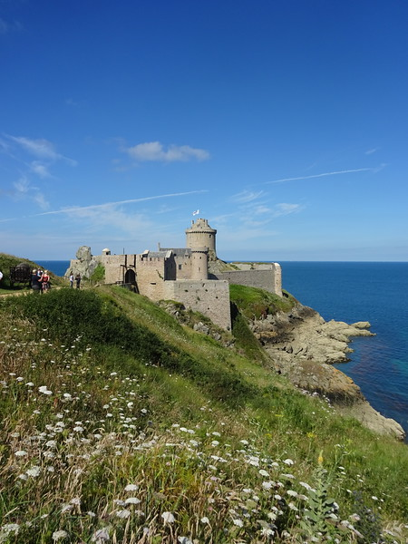 The even more spectacular Fort la Latte, near Cap Frehel.