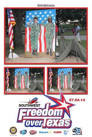 Freedom Over Texas 07-04-2014