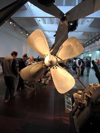 Inside Zeppelin Museum