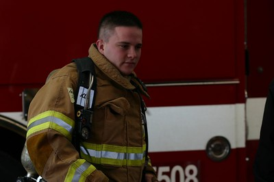 Fireman in gear