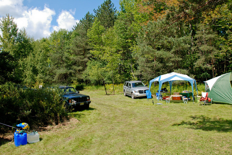 Entrance to the Back Campgrounds