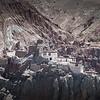 Basgo Monastery. Seen from far.