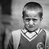 School boy. Dahanu village.