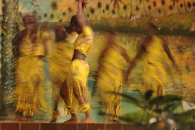 Xmas Eve dancers