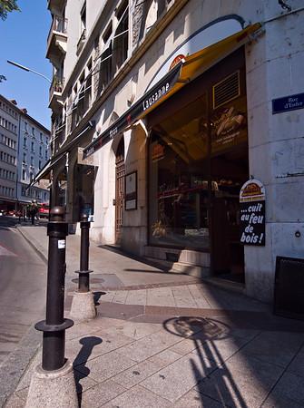 Street corner in old town