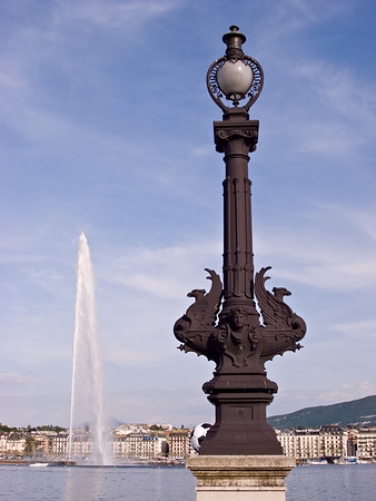 Another view of Jet d'Eau