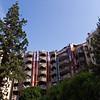 Gaudi-esque flats in Servette