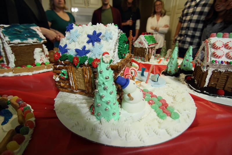 Kara and Matt's house (winner this year)