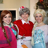 Hope Love and Magic 's Jessica Martin and Katie Kelley and Mrs. Claus were at the Petaluma Gingerbread House Showcase & Competition Hosted by Hotel Petaluma on December 17th 2017. Victoria Webb for the Argus-Courier