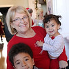 Marcus, Anne and Mika Clark at Petaluma Gingerbread House Showcase & Competition Hosted by Hotel Petaluma December 15-17th 2017. Victoria Webb for the Argus-Courier