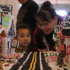 Damian Rose Clark at Petaluma Gingerbread House Showcase & Competition Hosted by Hotel Petaluma December 15-17th 2017. Victoria Webb for the Argus-Courier