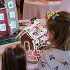 Kids look at the Petaluma Gingerbread House Showcase & Competition Hosted by Hotel Petaluma December 15-17th 2017. Victoria Webb for the Argus-Courier