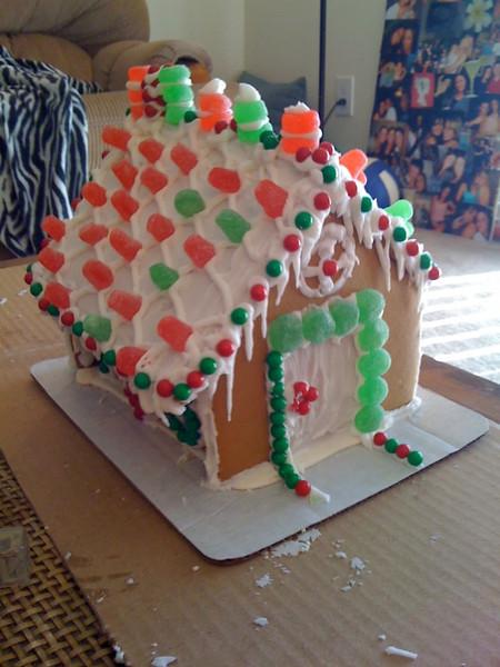 Gingerbread House Christmas 2010