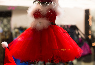 Red Xmas Dress Glendale 2632