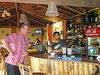 Peter and Brabhat in the bar