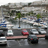 A first look at the Puerto Rico marina from our apartment balcony.