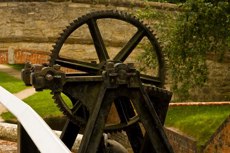 Stoke Bruerne. winding gear.