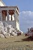 athens - acropolis - porch of the caryatids