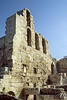 athens - acropolis - entrance to theatre of herodes atticus