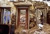 syros - abandoned, ruined house in ermouplois