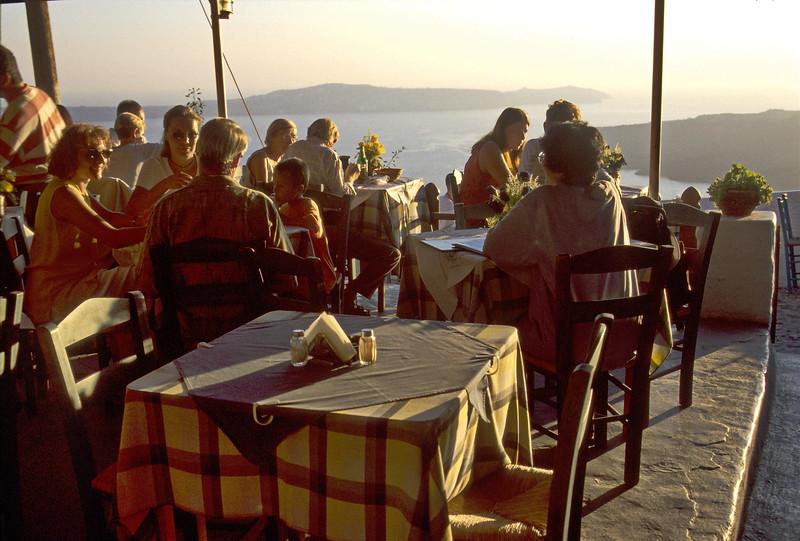 santorini - flame of the volcano restaurant