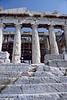 athens - acropolis - steps at front of parthenon