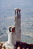 sparta - old mystras - chimnies