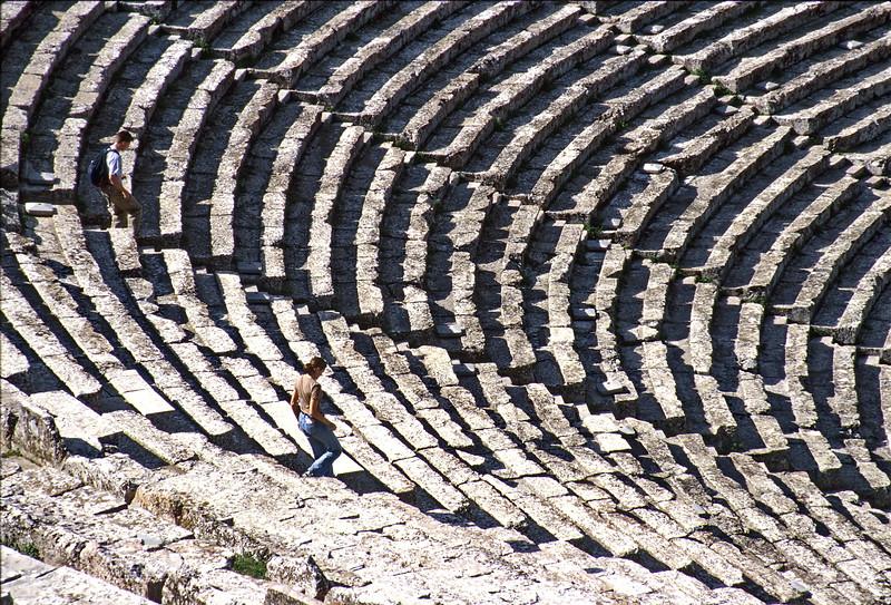 epidaurus - theatre steps