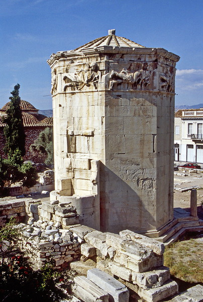 athens - tower of the winds