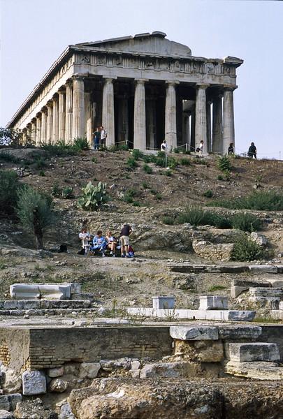 athens - temple of hephaestus (1)