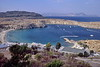 rhodes - lindos - view of harbour