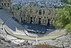 athens - acropolis - view of theatre of herodes atticus
