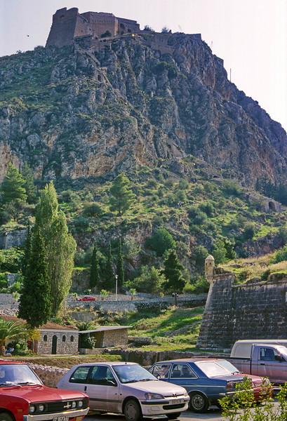 nafplio - view up to citadel