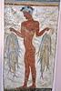 santorini - oia - replica of fisherman fresco