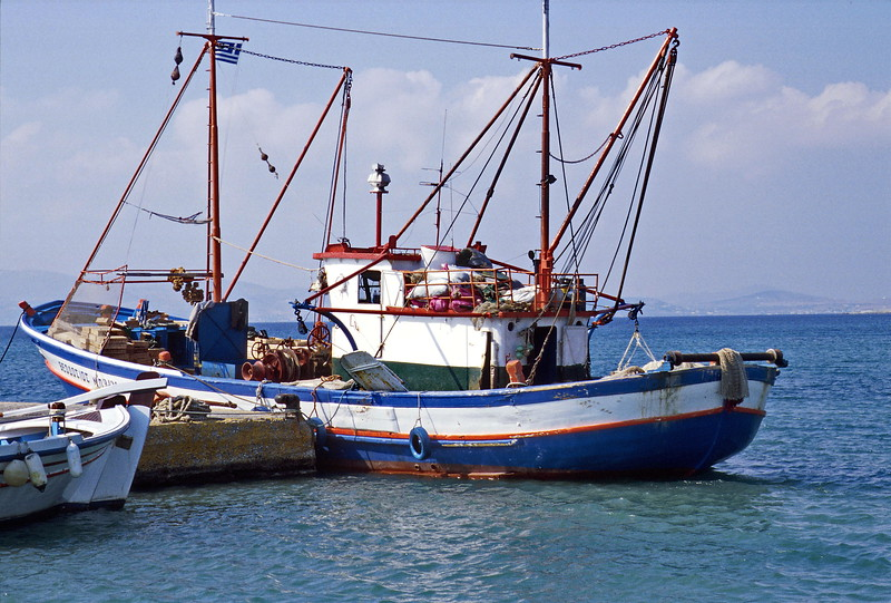naxos - fishing boat