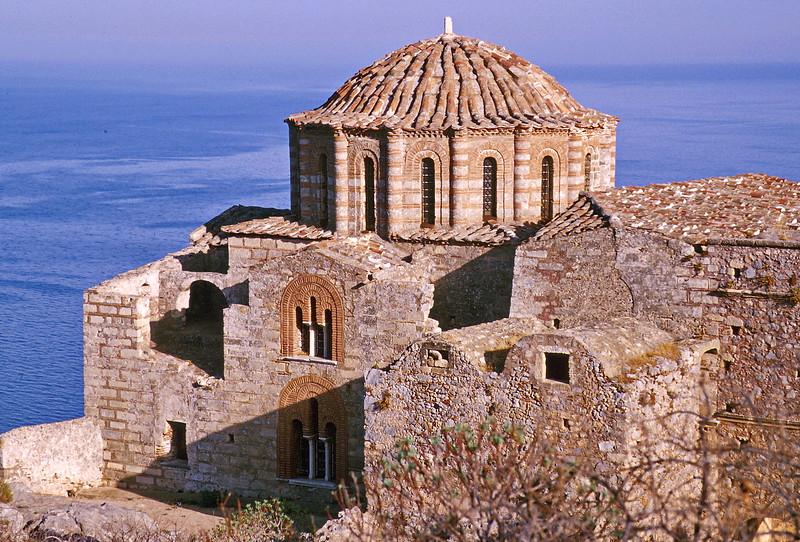 monemvasia - church on monemvasia rock