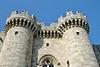 rhodes - palace walls