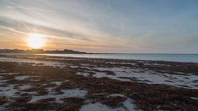 Evening, Guernsey, Places, Sea, St. Peter Port, Sunset, Vazon, Vazon Bay