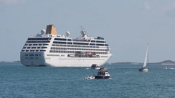 Boat, Cruise Ship, Guernsey, Liner, Places, Sea, St. Peter Port