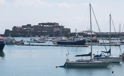 Castle Cornet, Guernsey, Marina, Places, Sea, St. Peter Port