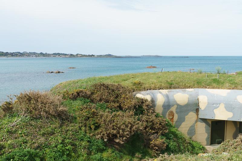 Vazon Bay, Fort Hommet Nature Reserve
