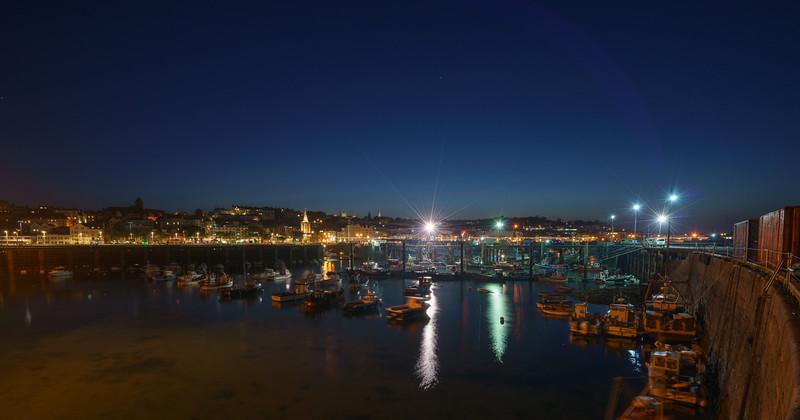 Night, St. Peter Port, Guernsey