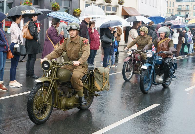 Motorcade, Military Vehicles