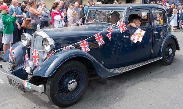 2018, Guernsey, Liberation Day, Motorcade @ Castle Pier, ,Guernsey - 09/05/2018