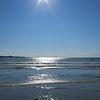 Lovely beach Vazon Bay, 6pm and it's sunny & warm